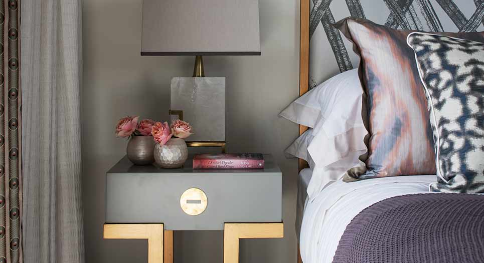 6 Design Secrets for stunning bedside table styling